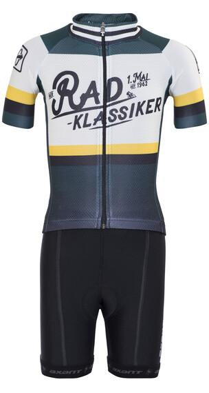 Bioracer Eschborn-Frankfurt 2017 Pro Race Set da ciclismo Bambino nero/petrolio